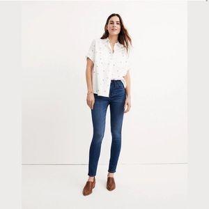 Madewell Curvy Roadtripper Skinny Jeans 26 Pettite